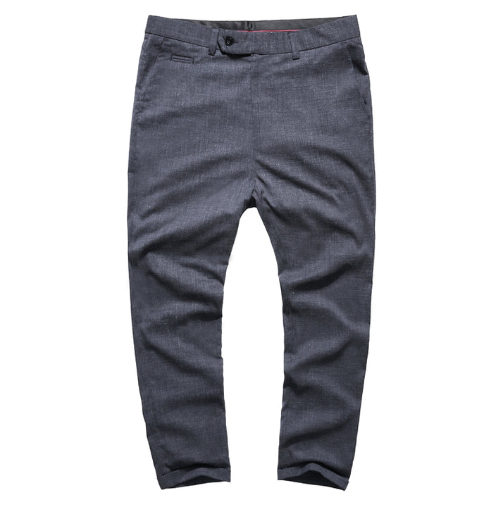 Men's Summer Hipster Slim Ankle-Length Pants