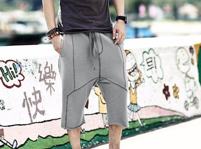 Men's Knee Length Summer Cotton Shorts - Zorket