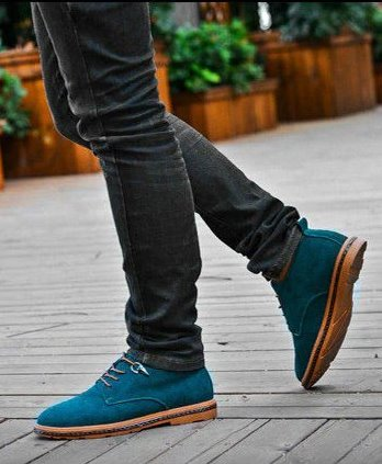 Men's Autumn/Winter Casual Suede Leather Ankle Boots With Plush Lining