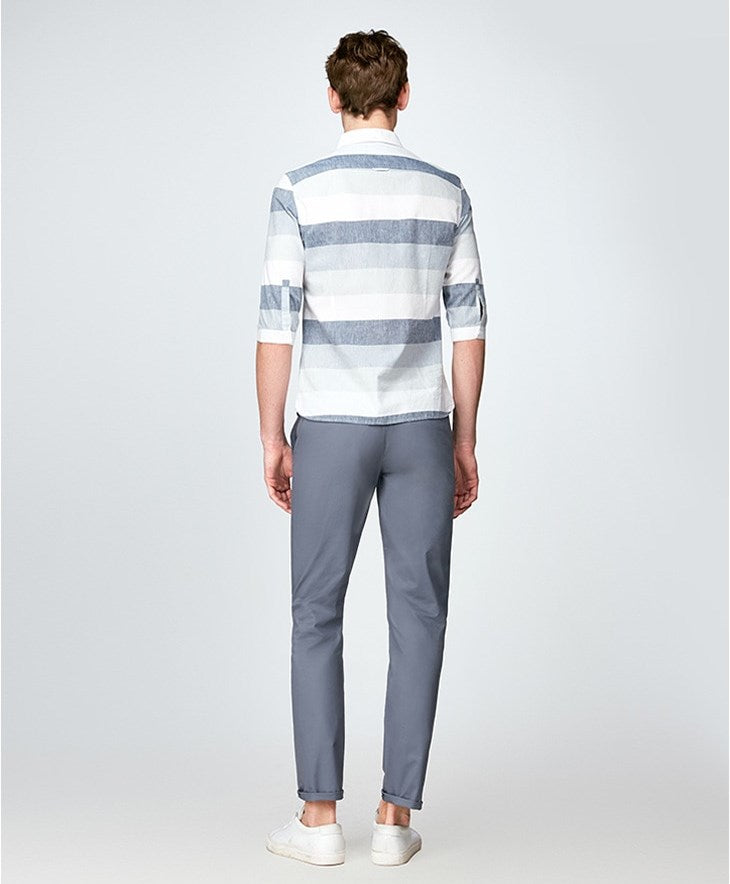 Men's Spring/Summer Cotton Straight Long Pants