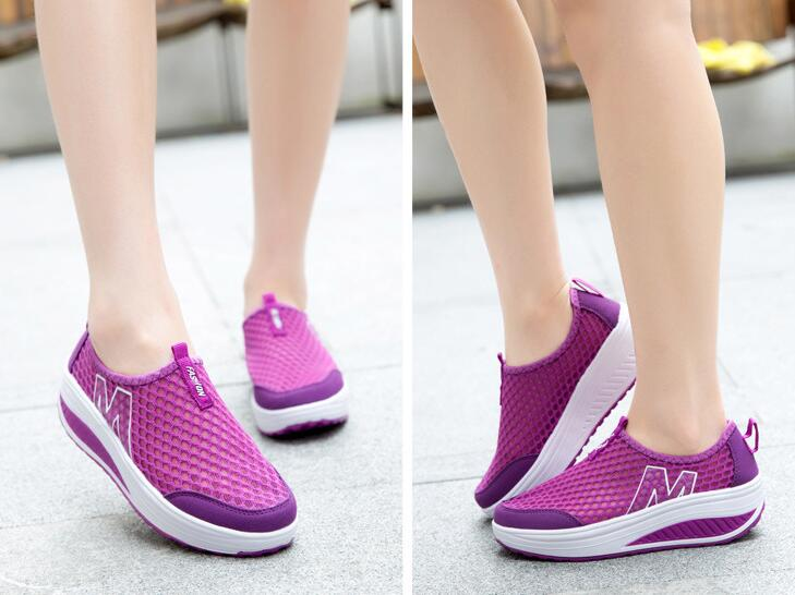Women's Sport Walking Breathable Air Mesh Loafers