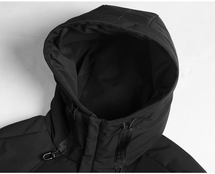 Men's Autumn/Winter Casual Warm Hooded Down Jacket