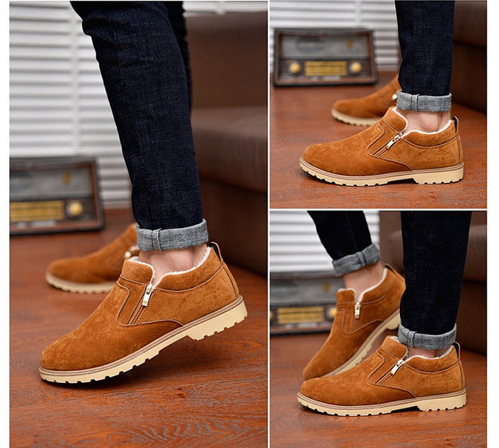 Boots – Fashionable Men's Casual Winter Boots With Fur | Zorket
