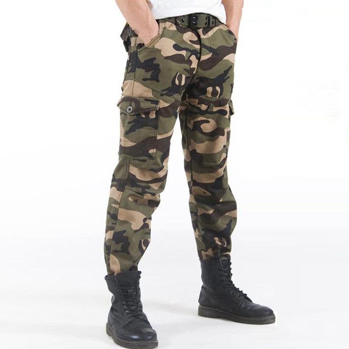 Men's Thick Camuflagem Loose Style Pants - Zorket