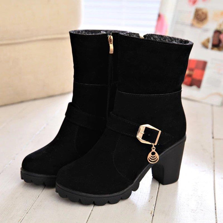 Women's Autumn/Winter Casual Warm Plush Fur Boots