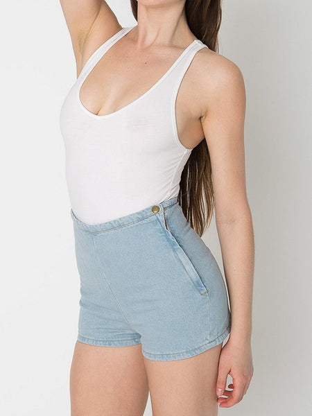 Denim Shorts – Stylish Female High Waist Denim Shorts | Zorket