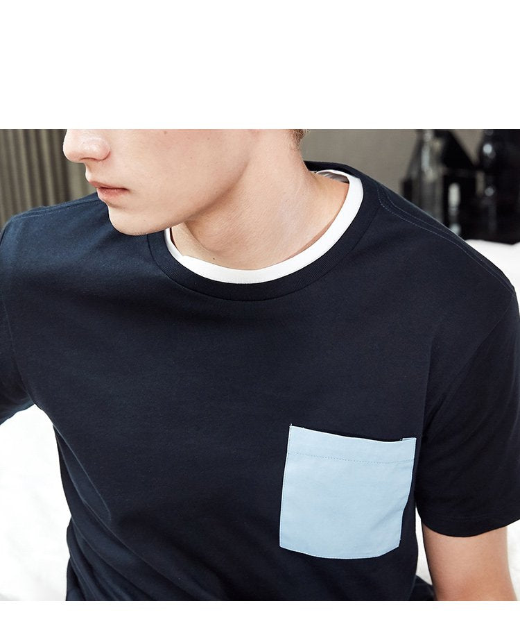 Men's Casual T-Shirt With Pocket