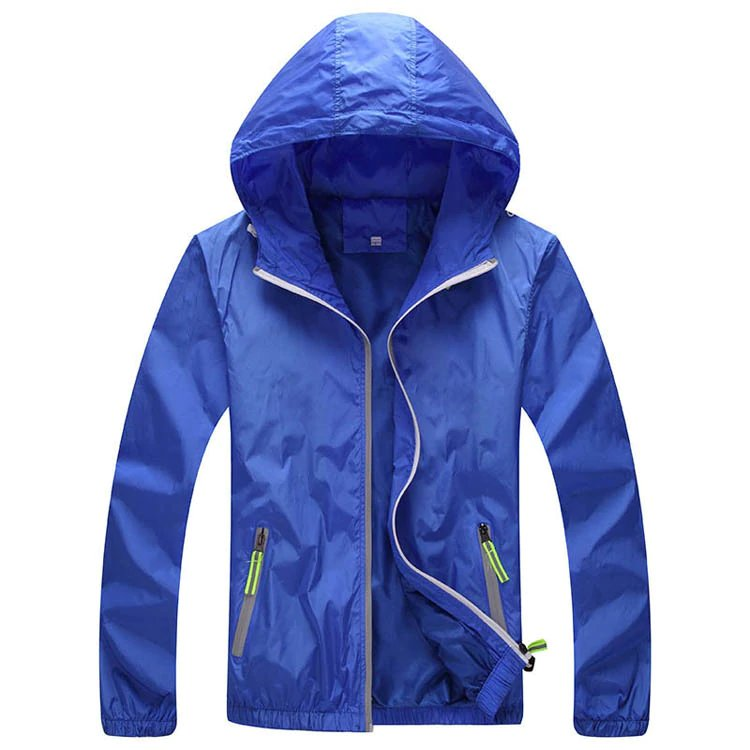 Men's Summer/Spring Quick Dry Sunscreen Waterproof Jacket | Men's Windbreaker