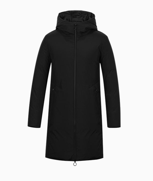 Men's Winter Thick Hooded Long Down Parka