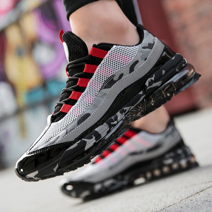 Men's Air Sole Lace-Up Sneakers