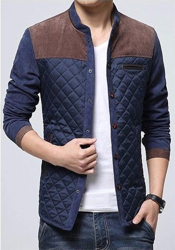 Men's Warm High Quality Winter Jacket, European Style - Zorket