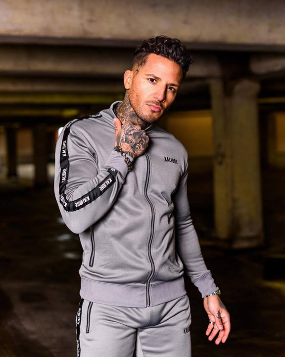 Men's Spring/Summer Elastic Gym Tracksuit | Men's Sportswear