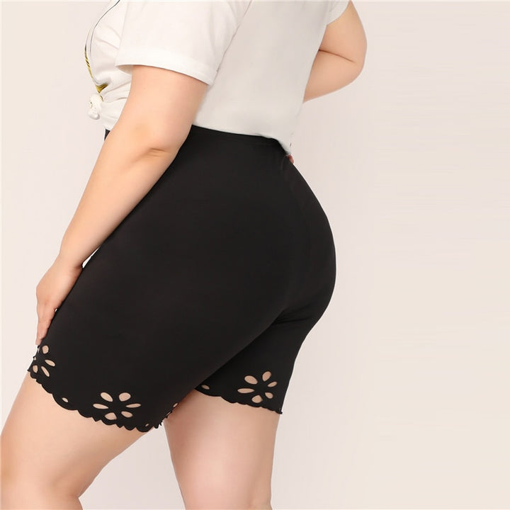 Women's Summer Casual Workout Shorts | Plus Size