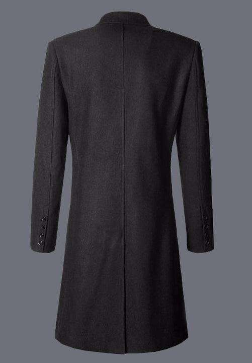 Warm Winter Coat With Turn-Down Collar - Zorket