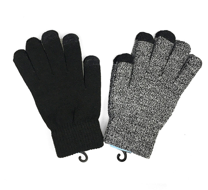 Men's Winter Warm Woolen Touch Screen Gloves