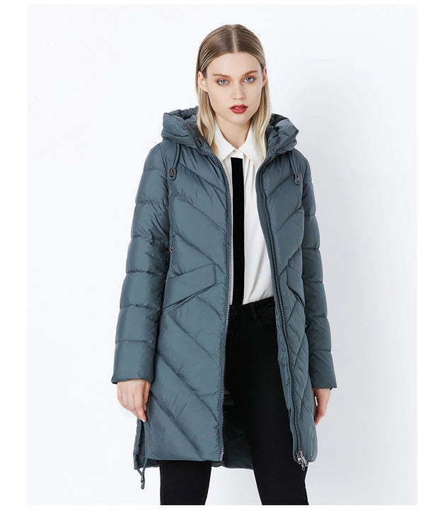 Women's Winter Warm Thick Cotton Padded Down Coat