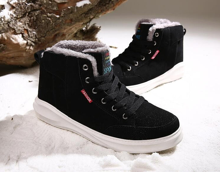 Winter Warm Casual Men's Boots On Platform - Zorket