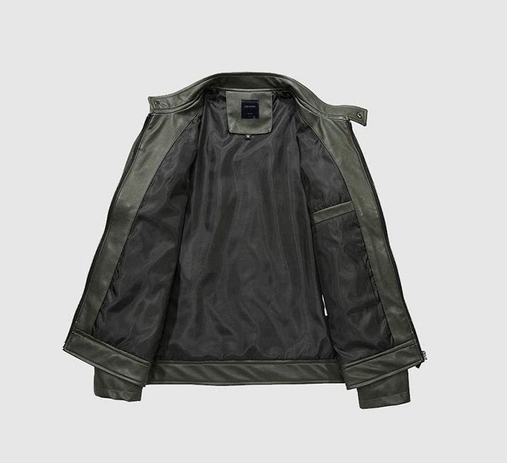 Men's Autumn/Winter Faux Leather Jacket