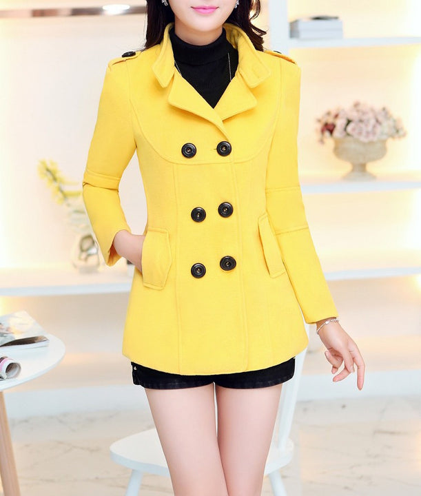 Warm Trench Coat of Cotton for Winter Season - Zorket