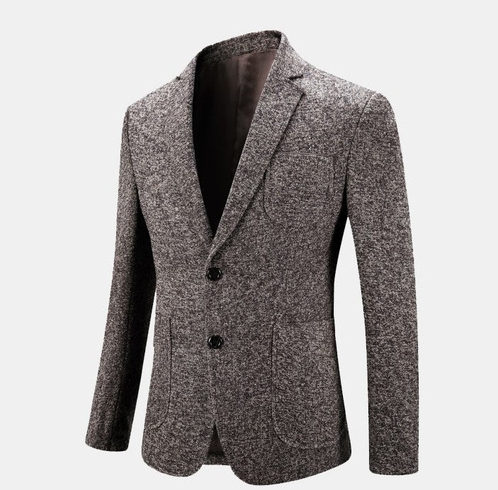Men's Spring/Autumn Casual Slim Fit Suit Blazer