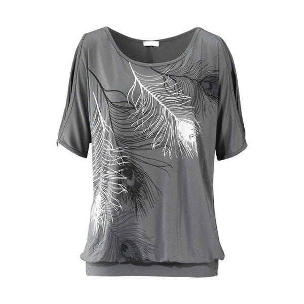 O-Neck Printed T-Shirt
