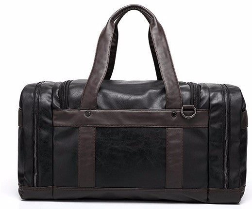 Travel Bag – Leather Travel Bag With Side Pockets For Men | Zorket