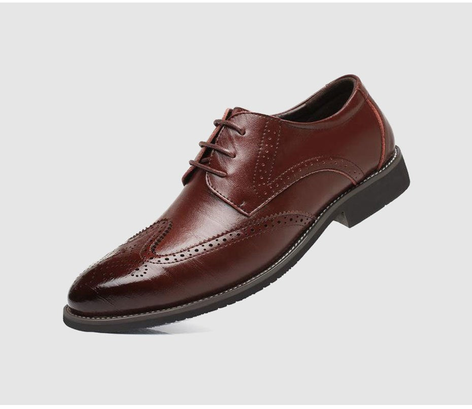 Men's Spring/Autumn Genuine Leather Classic Oxford Shoes