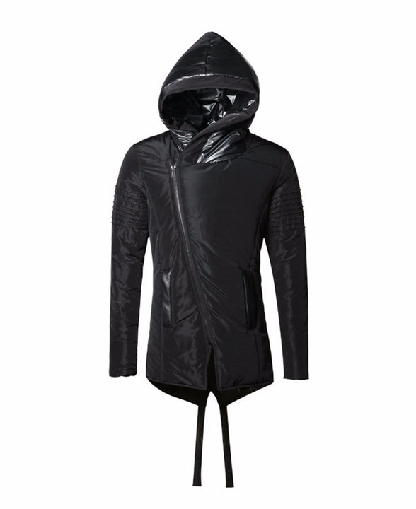 Men's Warm Hooded Loose Winter Jacket - Zorket