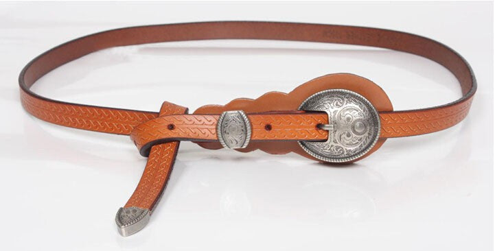 Belt – Fashion Vintage Genuine Leather Belt | Zorket