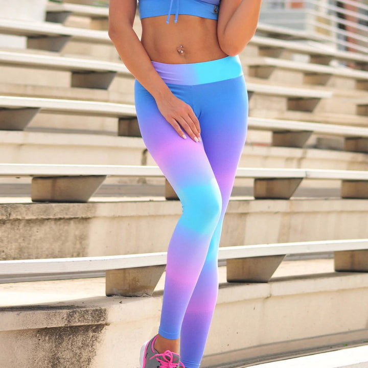 Women's Colorful Printed Leggings