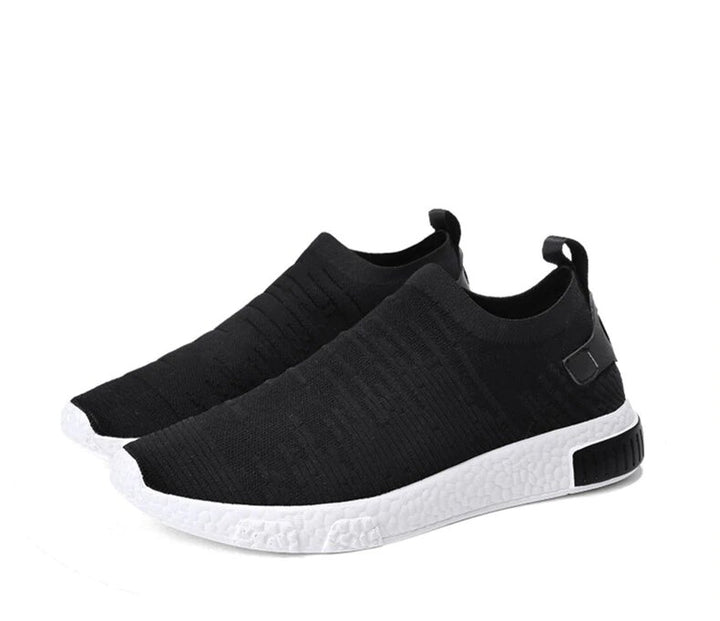 Men's Summer Air Mesh Sneakers Without Lacing