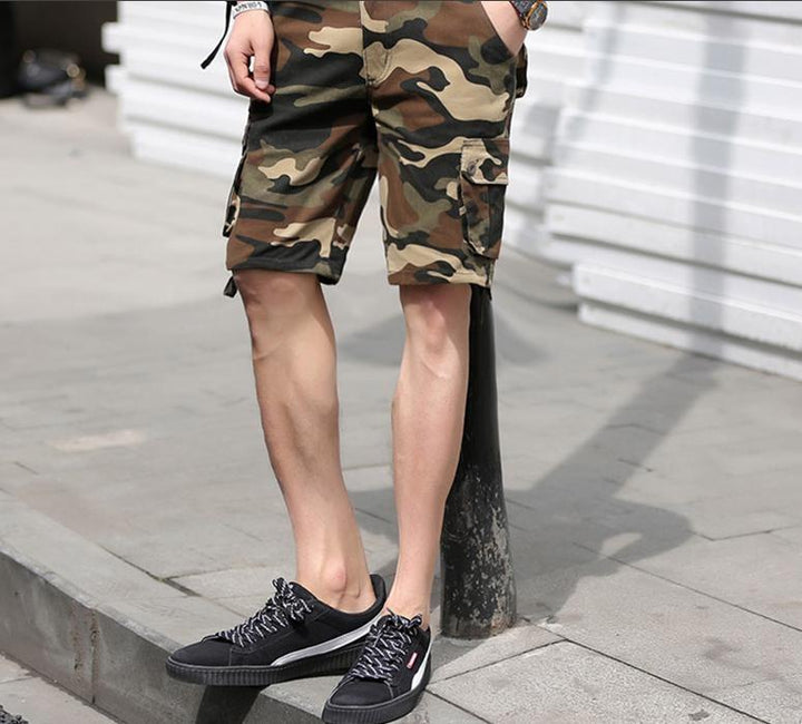 Men's Casual Military Camouflage Shorts