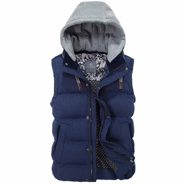 Warm Winter Fashionable Thick Vest For Men - Zorket