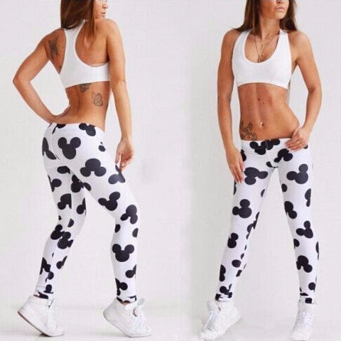 Leggings – Female Workout Middle Waist Leggings | Zorket