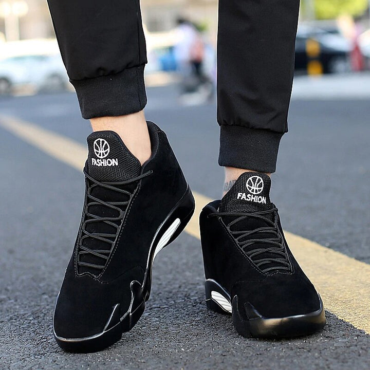 Men's Leather Sports Sneakers