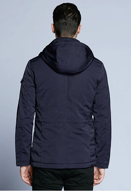 Men's Spring/Autumn Casual Cotton Hooded Jacket