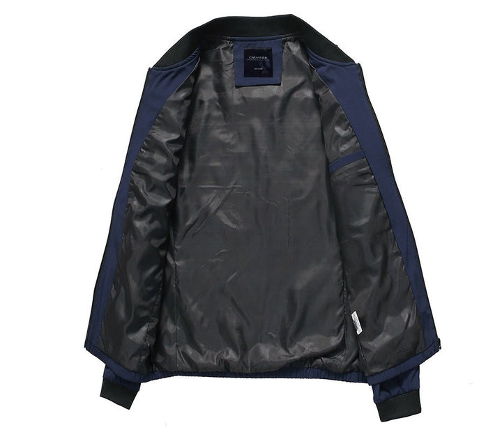 Men's Autumn Waterproof Military Bomber | Men's Windbreaker