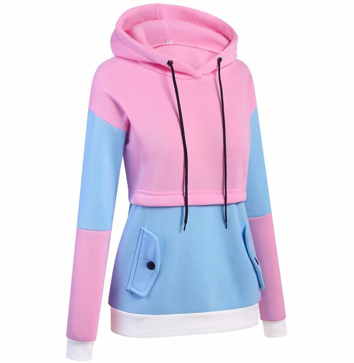 Women's Fashion Hoodie With Long Sleeve - Zorket