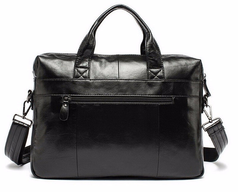 Vintage Men's Briefcase Of Genuine Leather - Zorket