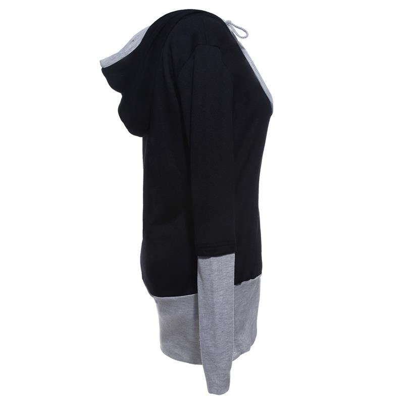 Spring Women's Hooded Sweatshirt | Plus Size - Zorket
