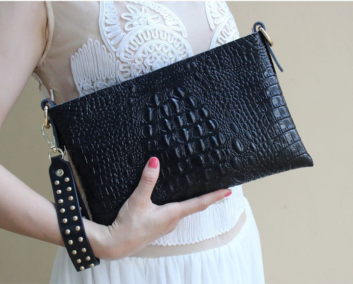 Women's Genuine Leather Evening Clutch - Zorket