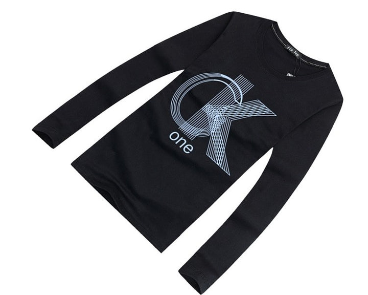 Men's Spring/Autumn O-Neck Long-Sleeved T-Shirt