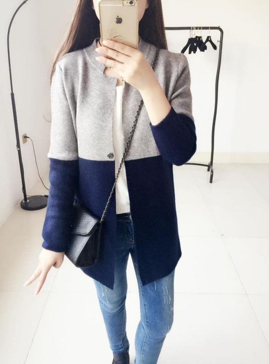 Spring / Autumn Fashion Long Women's Cardigan