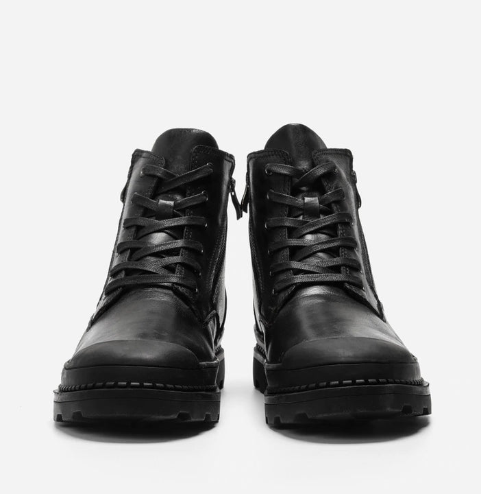 Men's Winter Retro Style Genuine Cowhide Shoes