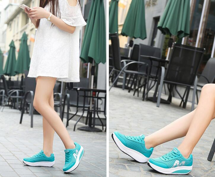 Women's Casual Platform Fitness Shoes Sneakers