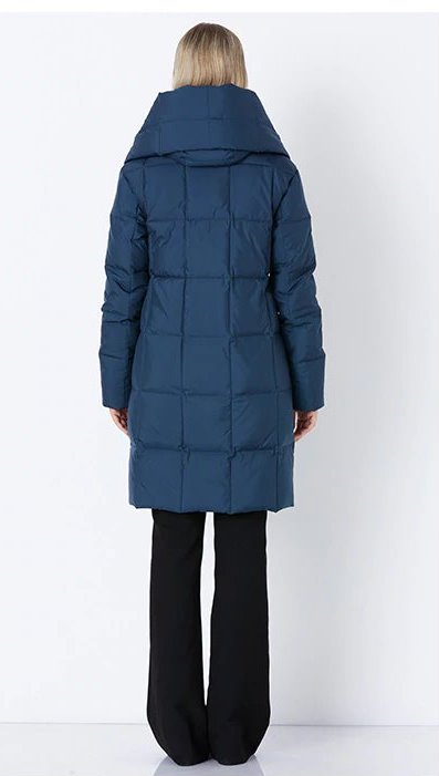 Women's Winter Warm Windproof Stylish Hooded Parka