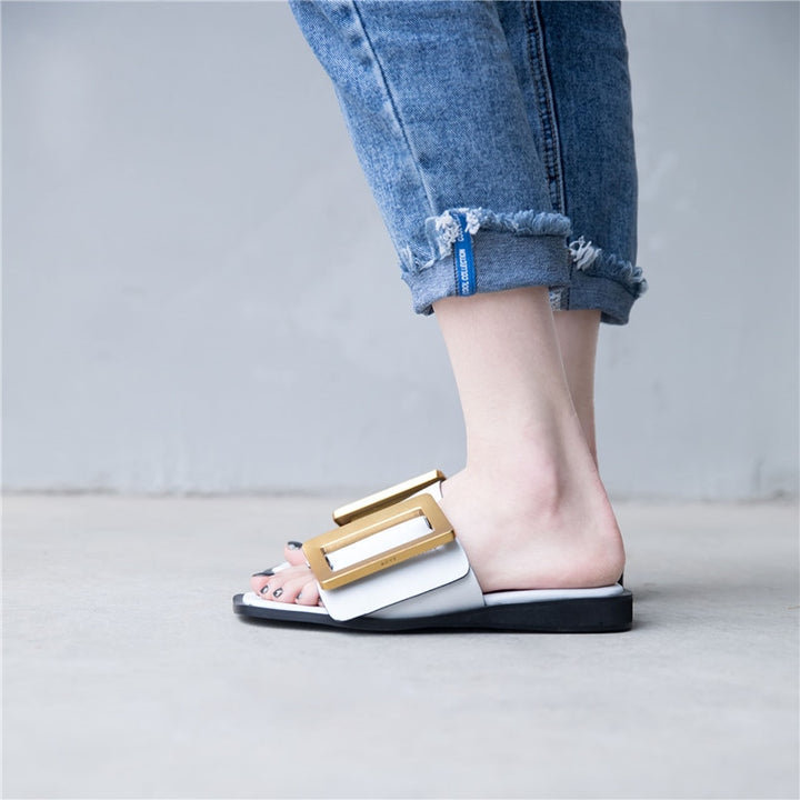 Women's Summer Genuine Leather Sandals