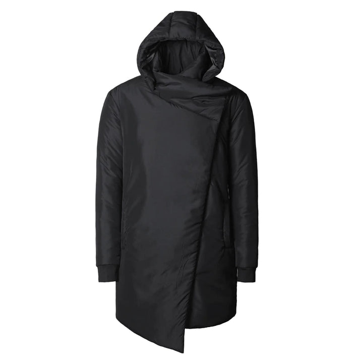 Men's Winter Thick Cotton Padded Warm Hooded Coat
