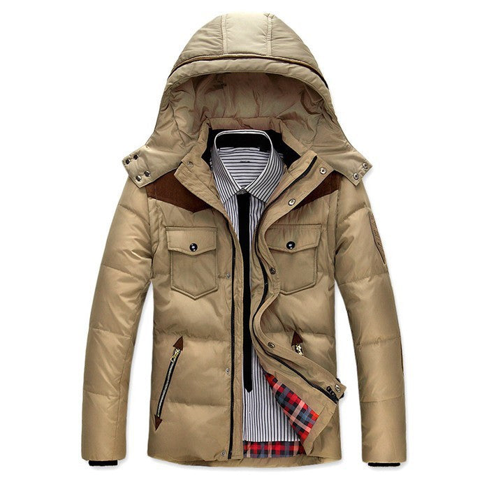 Stylish Male Casual Winter Jacket - Zorket