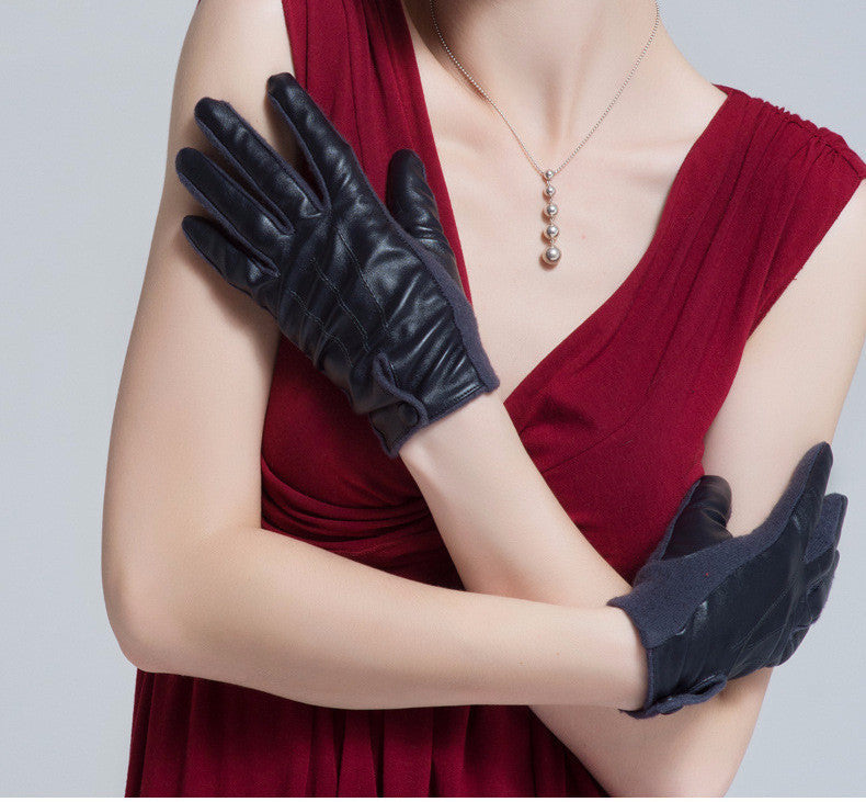 Gloves – Elegant PU Leather Winter Super Warm Gloves | Zorket
